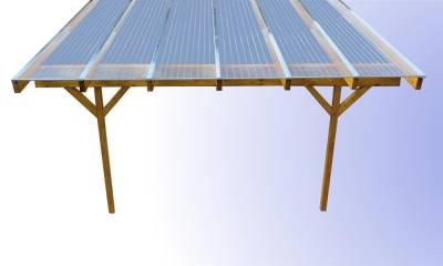 Günstige Komplettdächer zum selbst aufbauen