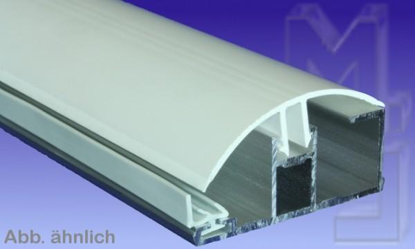 Randprofil, Alu/PVC, für 16 mm, pressblank