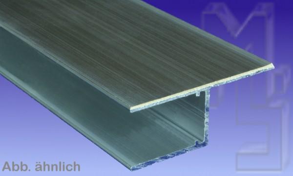 Aluminium U Profil Befestigungslasche längs (h), 16 mm