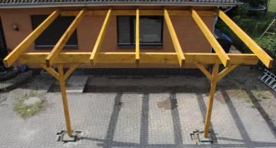 Montageanleitung Leimbinder Unterkonstruktion