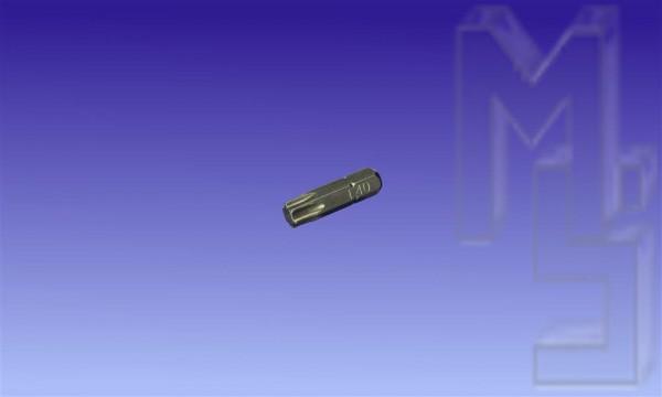 Biteinsatz Torx T40 S2 für 8 mm Holzbauschrauben