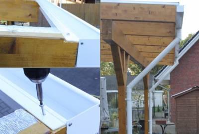 Montageanleitung Kasten-Regenrinne