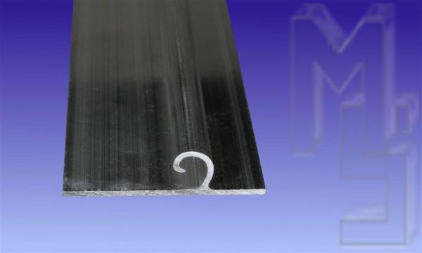 Aluminium-Wandanschlagprofil für Scharnierprofil 16 mm
