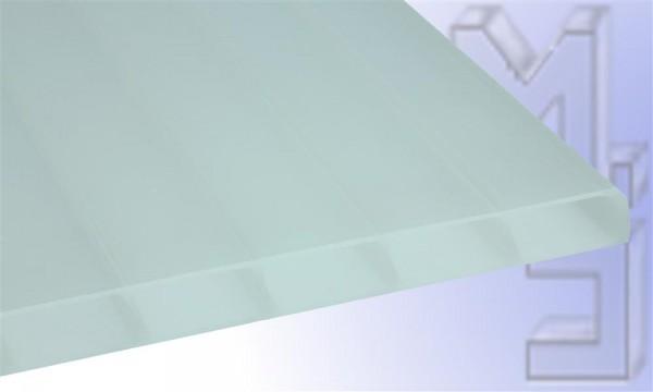 16 mm HIGHLUX® Acrylglas-Stegplatte 32 mm Stegabst., Sunstop Sky, Struktur 2-f., (Plexiglas-Rohm.)