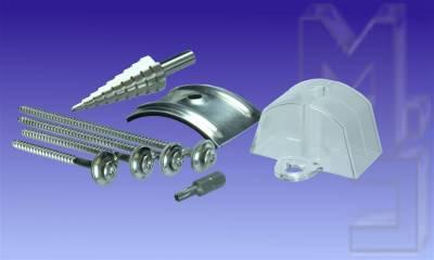 Montagematerial für 130/30 Sinus-Platten