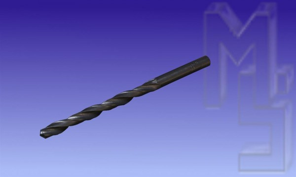 HSS Bohrer, 5,0mm, rollgewalzt
