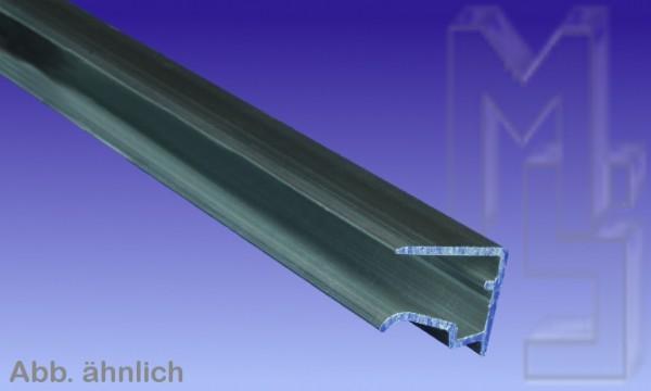 10 mm pressblank Alu Abschlußprofil universal