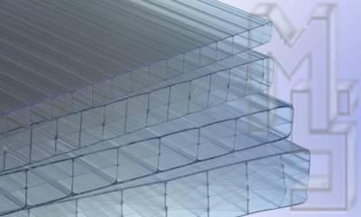 Hohlkammerplatten glasklar sind klare farblose Stegplatten