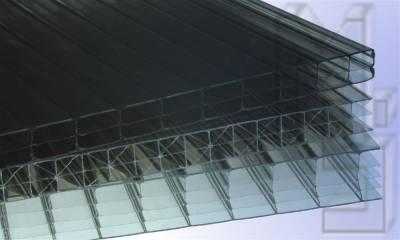 Hohlkammerplatten - Doppelstegplatten in Braun Bronce