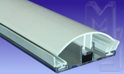 Alu/PVC Profil für 8 und 10 mm