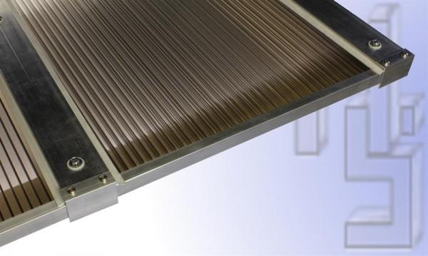 3,50 m Länge x 2,08 m Breite, Komplett-Dachhaut bronze PC Stegpl.+Zub. A/G