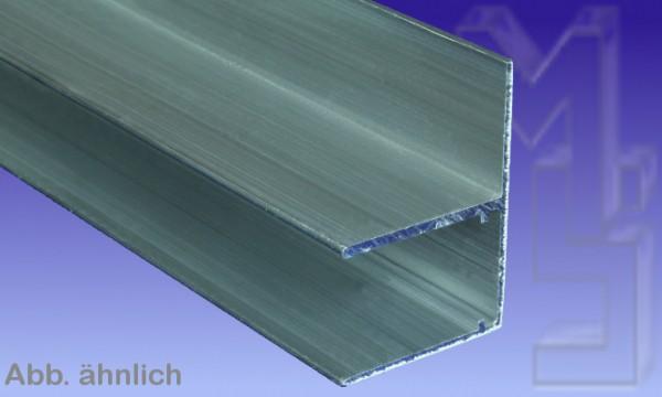 Aluminium U Profil Befestigungslasche quer (F), 16 mm
